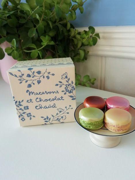 Maileg, Macarons et Chocolat Chaud