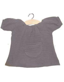 Minikane, Jeanne Dress Double Gauze Cotton (Taupe)
