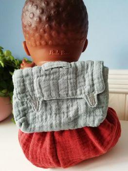 Minikane, Doll backpack - Blue