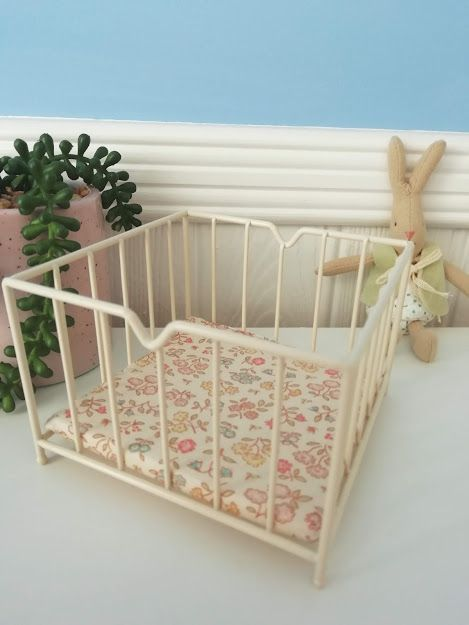 Maileg, Off White Micro Playpen