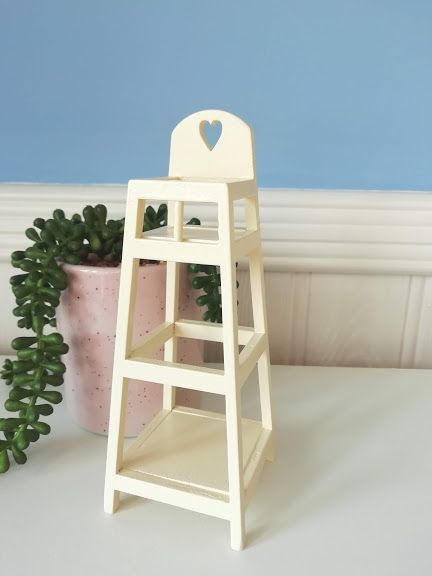 Maileg MY highchair (Off White)