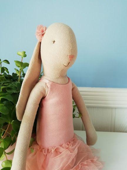 Maileg, Bunny Ballerina Size 3 - Rose