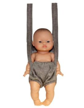 Minikane, Baby Carrier (Grey)