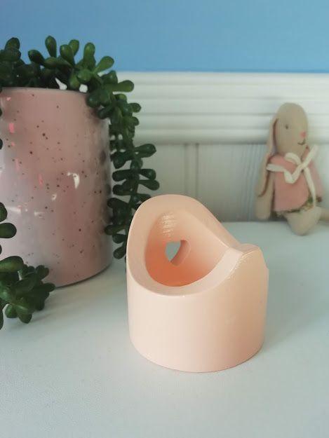 Maileg, Wooden Potty - Pink