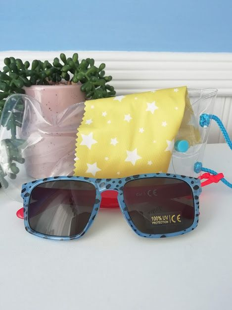 Rockahula Kids, Cheetah Sunglasses Blue