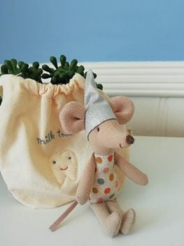 Maileg, Tooth Fairy Mouse in a Bag