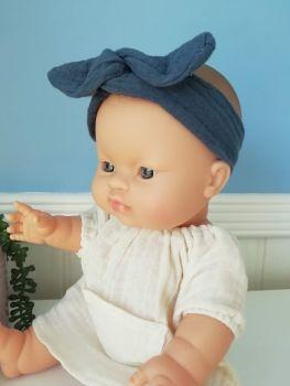 Minikane, Headband Blue