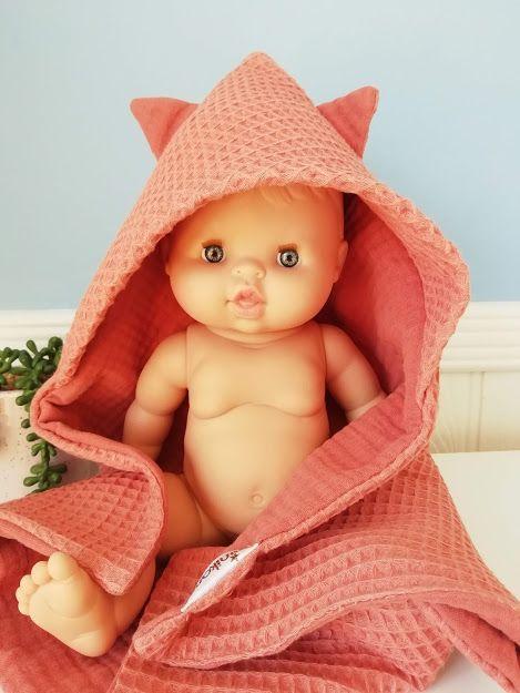 Minikane, Bath Towel (Marsala)