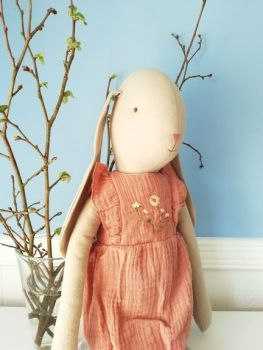 Maileg, Bunny Size 5, in Rose Jumpsuit