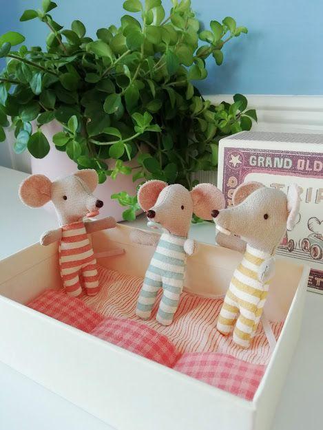 Maileg Matchbox Mice