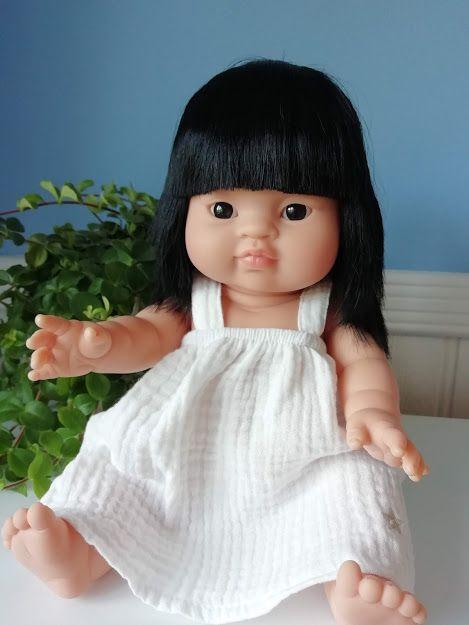Minikane, Mila Dress (White)