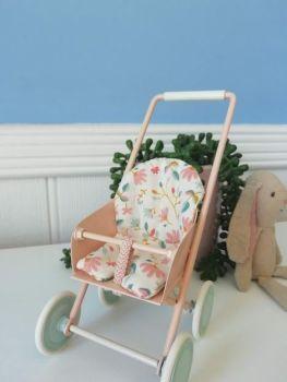 Maileg, Micro Stroller, pink