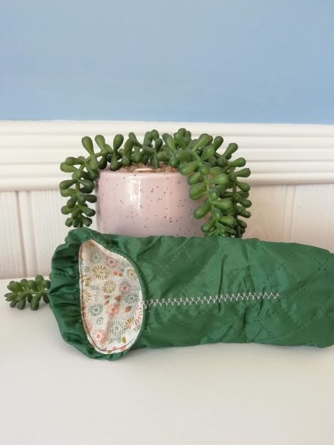 Maileg, Mouse Sleeping Bag - Green