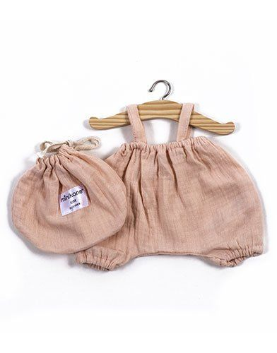 Minikane, Bloomer Kim coton double gaze blanc in a bag