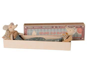 Maileg, Grandma & Grandpa mice in Long Matchbox (DUE SEPT)
