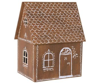 Maileg, Gingerbread house with stocking and tree (OCT)