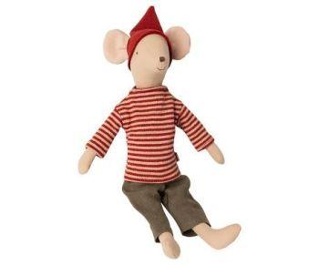 Maileg, Christmas Mouse Medium Boy (DUE LATE SEPT)