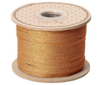 Maileg, Ribbon, 25 m - Ocher/Gold (OCT)