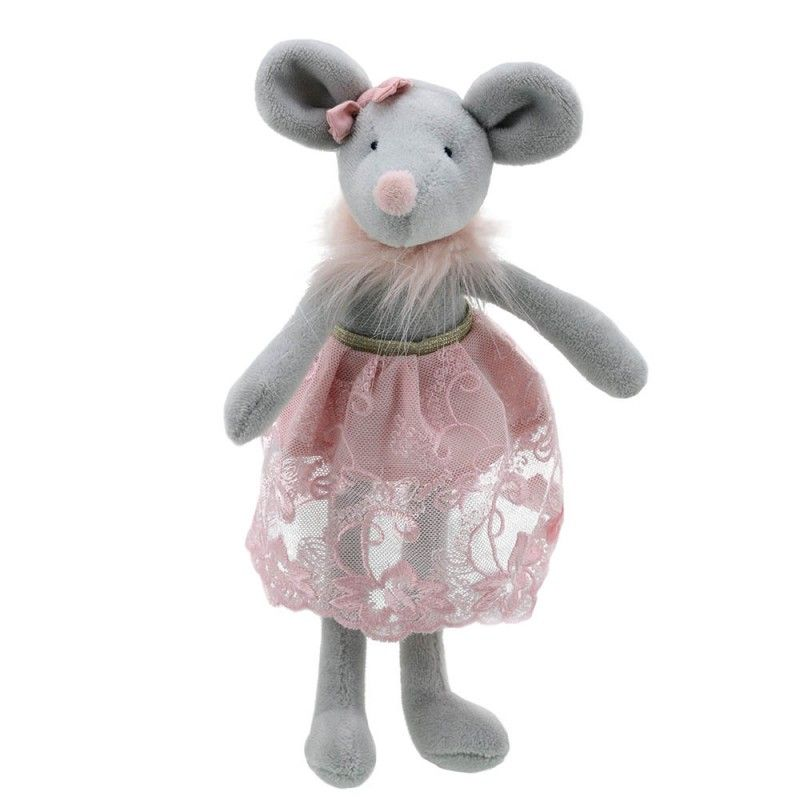 Wilberry, Mouse in  Pink Lace Skirt