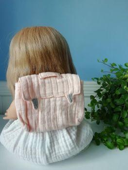 Minikane, Doll Backpack - Pink