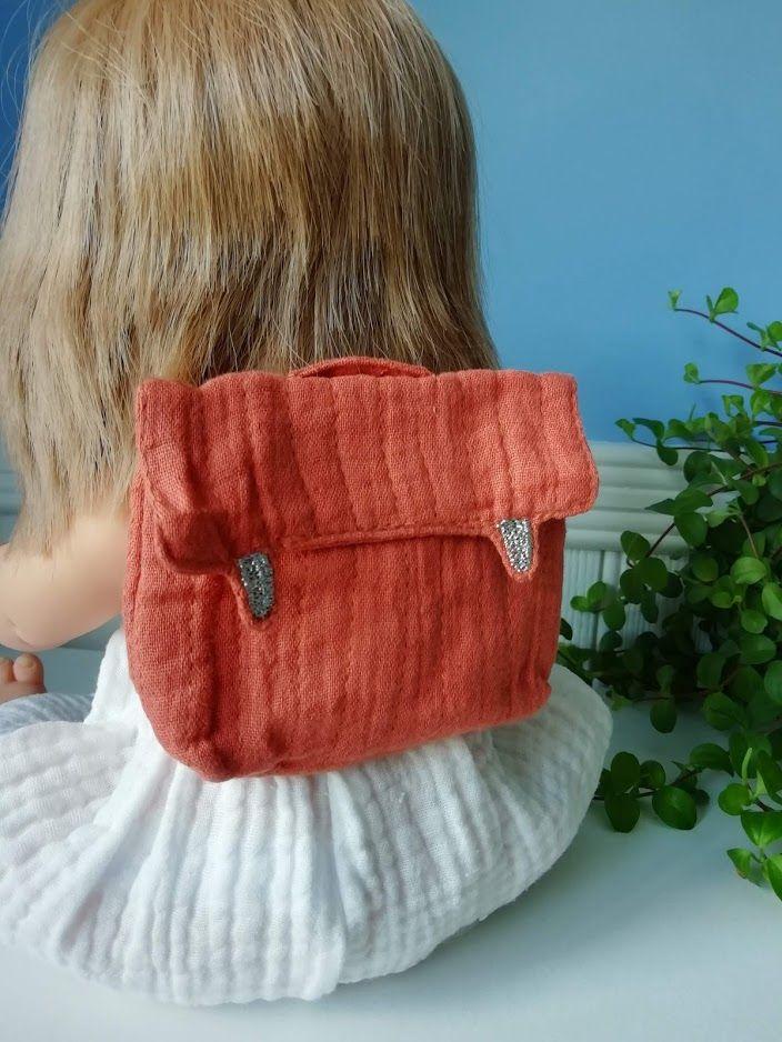 Minikane, Doll Backpack - Terre de sienne