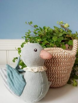 Wilberry, Blue Duck in Basket