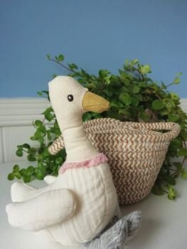 Wilberry, White Duck in Basket