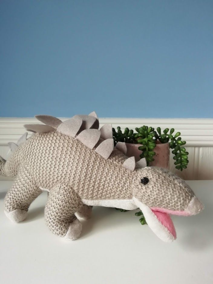 Wilberry, Knitted Stegosaurus