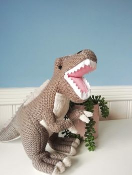Wilberry, Knitted T.Rex