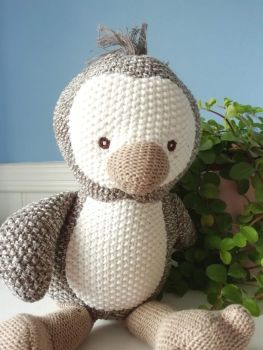 Wilberry, Knitted Penguin