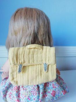 Minikane, Doll Backpack - Mustard