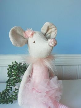 Wilberry, Mouse in Pink Tutu and Floral Nose