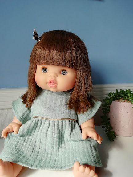 Minikane, Daisy Dress ( Vert)