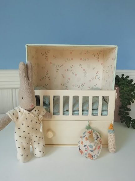 Maileg, Baby Room with Micro Rabbit