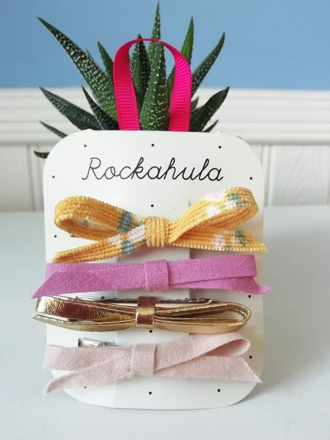 Rockahula Kids, Florence Skinny Bow Clips