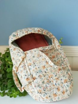 Maileg, Quilt Carry Cot - Blue