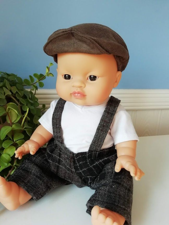 Minikane, Trousers set with top and cap