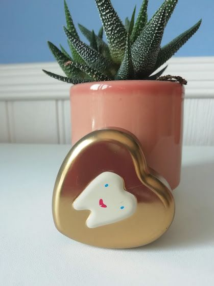 Maileg, My Heart Tooth Box (Gold)