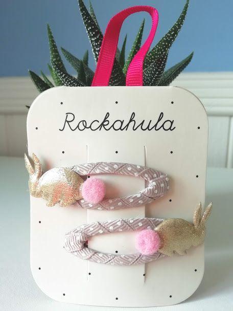 Rockahula Kids, Bunny Hop Clips Gold