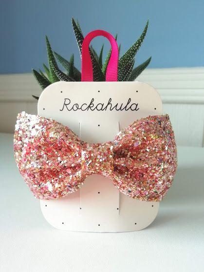 Rockahula Kids, Super Sprinkles Glitter Bow Clip