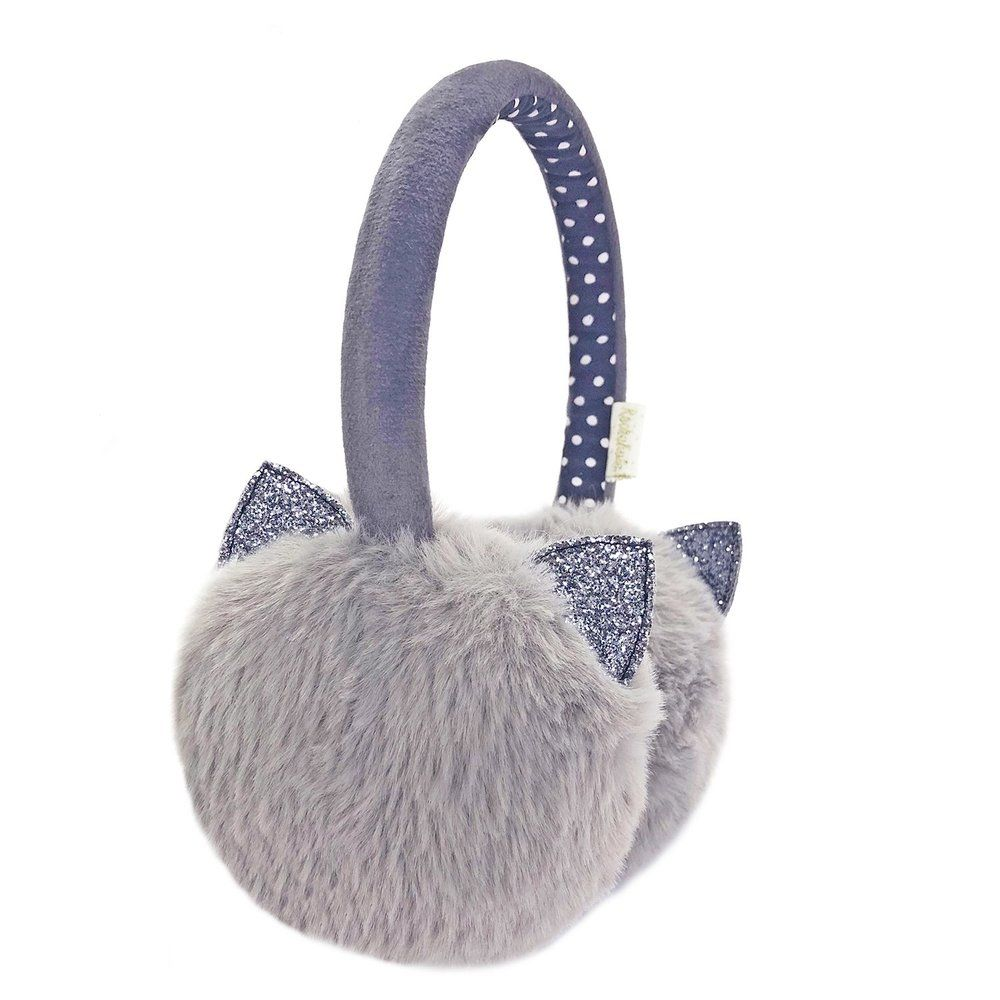 Rockahula Kids, Clara Cat Earmuffs (Grey)