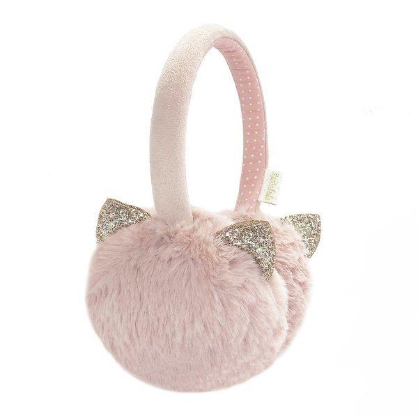 Rockahula Kids, Clara Cat Earmuffs Pink