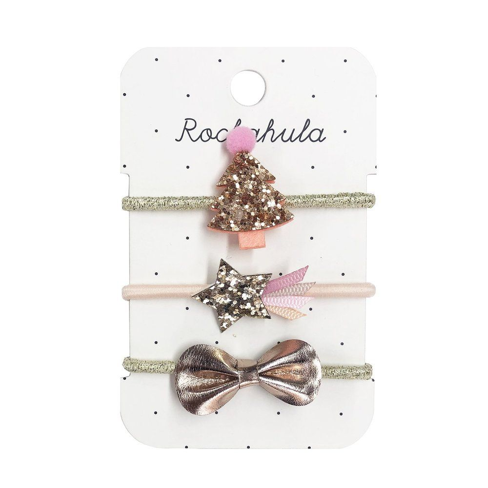 Rockahula Kids, Rose Gold Xmas Tree Ponies