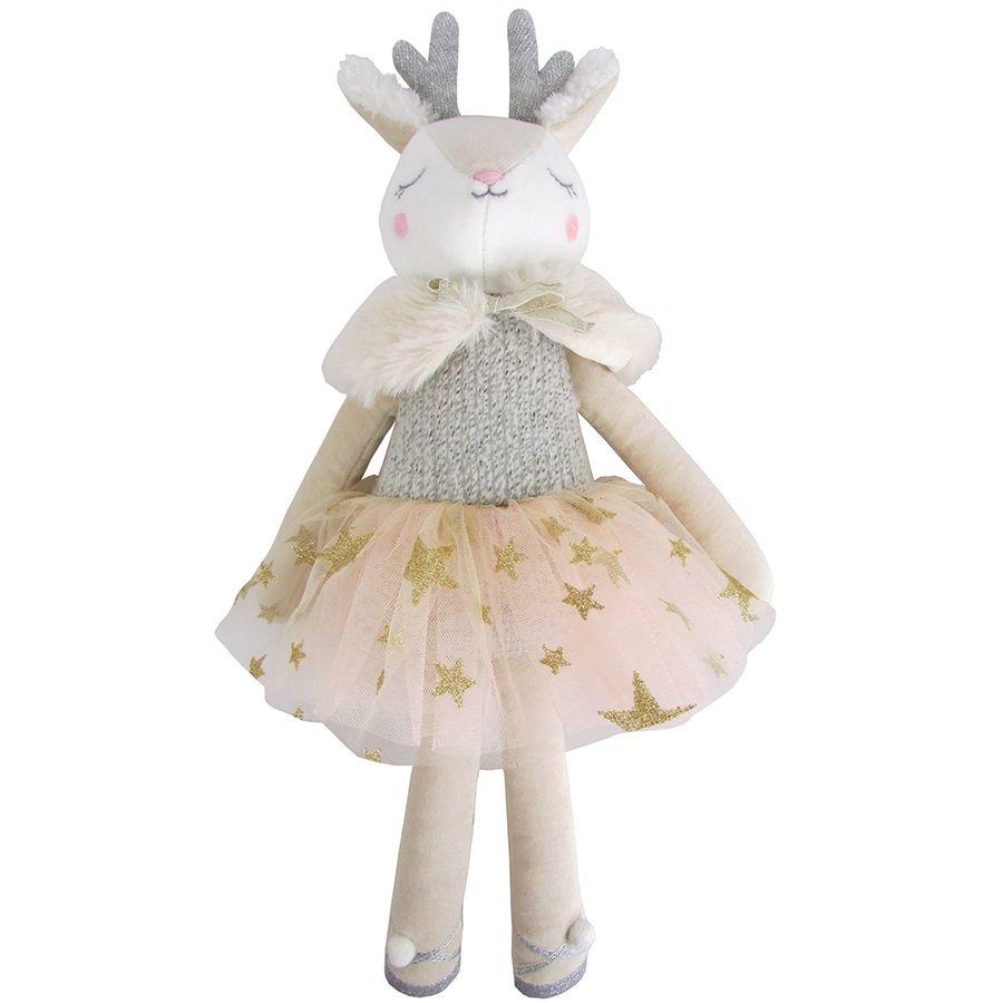 Albetta, Cotton Velvet Deer (Medium)