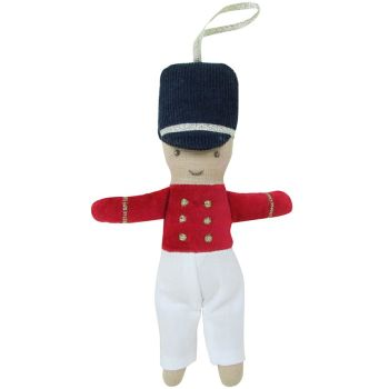 Albetta, Nutcracker Soldier Tree Deco (13cm)
