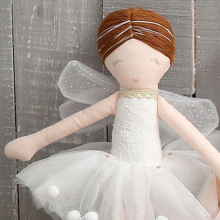 Albetta, Off White Fairy Doll (43cm)