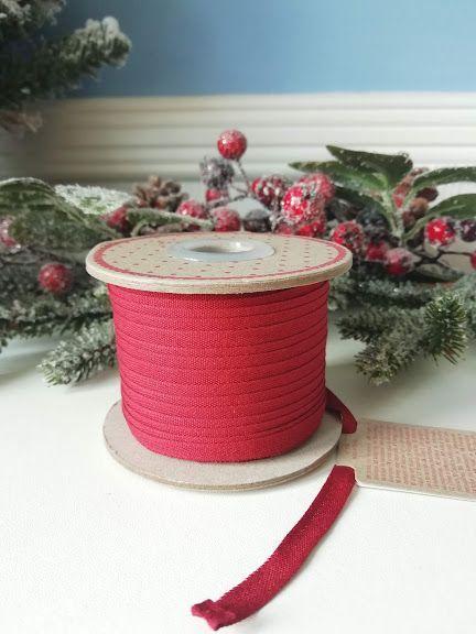 Maileg, Ribbon 25 m, Red