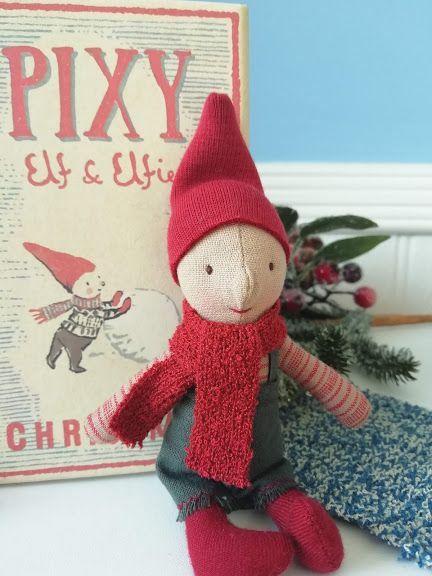 Maileg, Pixy Elf in Matchbox - Boy