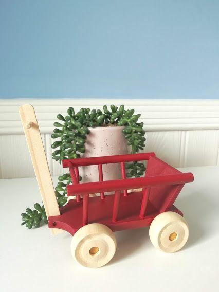 Maileg, Wagon - Dusty Red