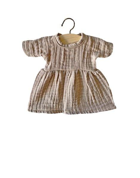 Minikane, Amigas Dress - Putty